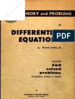 Ayres Differential Equations