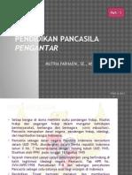 Ch 1 - Pengantar Pendidikan Pancasila