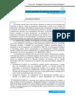 Comunicación Científica en Bolivia y El Mundo