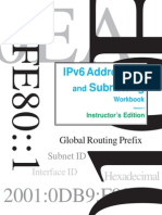 IPv6 Addressing and Subnetting Workbook - Instructors Version