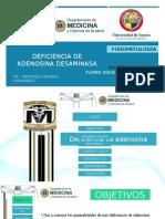 Deficiencia de DEFICIENCIA DE ADENOSINA DESAMINASAAdenosina Desaminasa