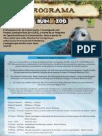 Programa Final 8vo Curso Internacional de Med Zool Buin Zoo
