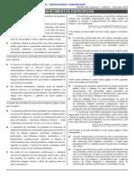Cespe 2014 Anatel Tecnico Administrativo Comunicacao Prova