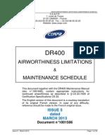 DR400 Maintenance Schedule Is5 Amdt7 April2015