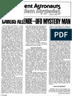 """1975-09  """"Carlos Allende -- UFO Mystery Man"""" by John A. Keel"""