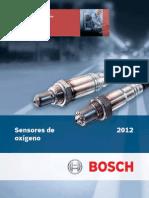 Catálogo Sensores Oxígeno 2015