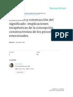 EMOCIONES Y CONSTRUCCIÓN DEL SIGNIFICADO- IMPLICACIONES TERAPÉUTICAS DE LA CONCEPCIÓN CONSTRUCTIVISTA DE LOS PROCESOS EMOCIONALES.pdf