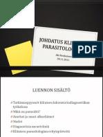 Johdatus Kliiniseen Parasitologiaan - Aki Ronkainen