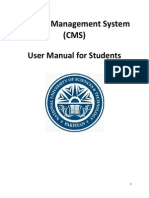 CMS User Manual - Student (1)
