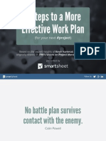 3 Steps to a More Effective Work Plan1 140108164227 Phpapp02