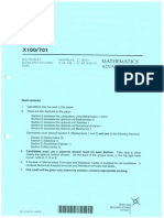 Advanced Higher Maths Exam 2002
