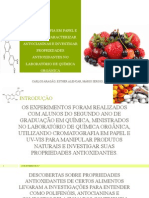 Cromatografia Em Papel e Uv-Vis Para Caracterizar Antocianinas