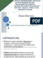Trabalho de Sociologia Jürgen Habermas