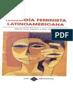 Ma. Pilar Aquino Elsa Tamez - Teologia Feminista Latinoamericana