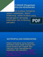 6 Konsep Dasar Antropologi Kesehatan
