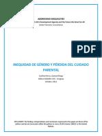 Pérez, C. - Inequidad de Género y Pérdida Del Cuidado Parental