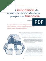 La Importancia de La Depreciación desde un punto de vista Económico y financiero