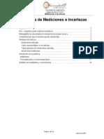 Práctica de Mediciones e Incertezas Fisica