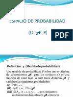 Espacio de Probabilidad - Bulmaro