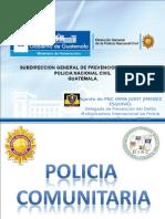 CONCEPTUALIZACION DE  POLICIA COMUNITARIA-2015---.ppt