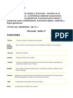 Bibliotecas Lenguaje C.doc