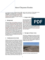 Northern Cheyenne Exodus