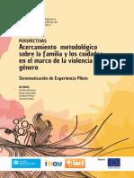 Acercamiento Metodológico Sobre La Familia y Los Cuidados en El Marco de La Violencia de Género