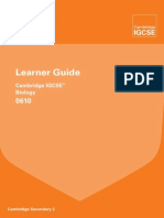 163030 Cambridge Learner Guide for Igcse Biology