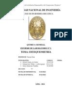Informe 3 quimica