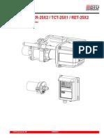 Manul de Usuatio BTG TCR-25XX TCT-25X1 RET-25X2