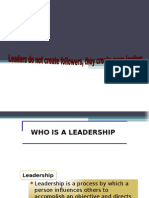 Who is a Leadership