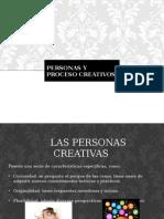 Persona y Procesos Creativos