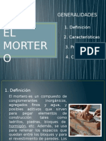 Exposición Del Mortero
