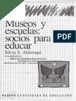 Museos y escuela
