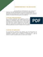 5945 Controles Administrativos y de Aplicacion