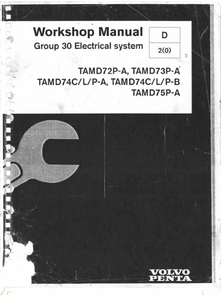 workshop manual electrical system group 30 electrical engineering rh scribd com