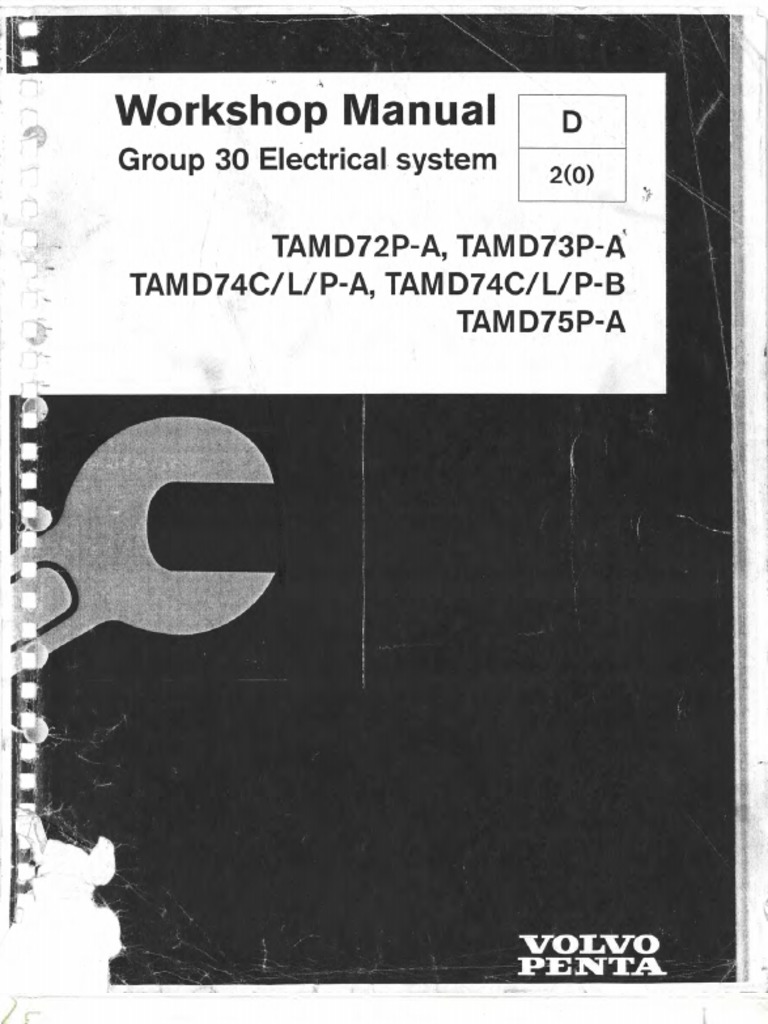 Workshop Manual Electrical System Group 30 | Electrical