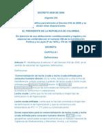 Decreto 2838 de 2006