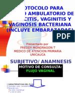 CERVICITIS Y VAGINOSIS(2).ppt