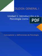 1 Introducción Psi General 2013