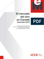 Estudio de Mercado del Vino en Canada