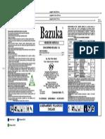 Bazuka x 1Lt Ningbo Generic Chemical Co