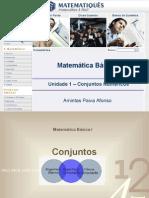 Matematica Unidade 1 – Conjuntos Numéricos