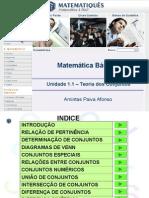 Matematica Unidade 2 – Teoria dos Conjuntos.ppt
