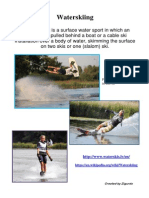 Popular water sports in Latvia