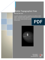 Manual Mobile Topographer