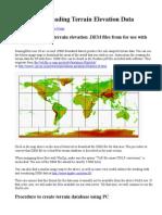 Creating & Loading Terrain Elevation Data