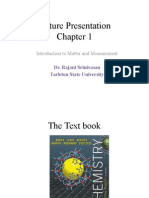 Lecture Presentation_Chapter _1_Matter and Measurement