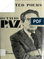 Octavio Paz, Selected Poems