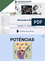 Matematica Unidade 4 - Potenciação